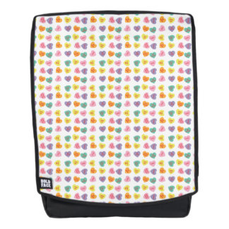 Conversation Candy Hearts Boldface Backpack