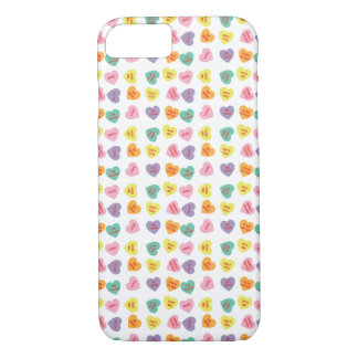 Conversation Candy Hearts iPhone Case