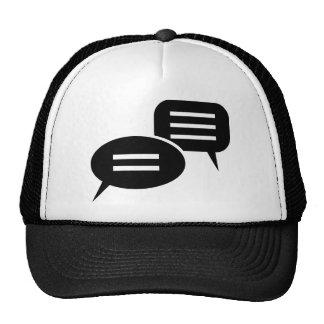 Conversation Mesh Hat