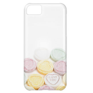 Conversation hearts candy I Love You foodie photo Case For iPhone 5C