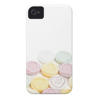 Conversation hearts candy I Love You foodie photo iPhone 4 Case