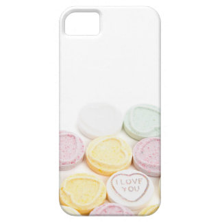 Conversation hearts candy I Love You foodie photo iPhone SE/5/5s Case