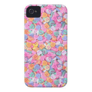 Conversation Hearts iPhone 4 Case-Mate Case