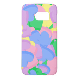 Conversation Hearts Computer Art Phone Case