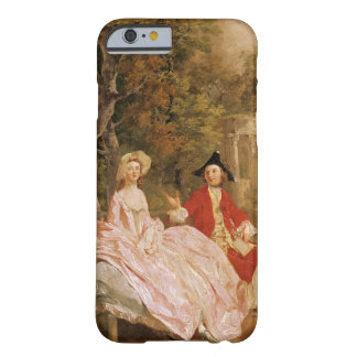 Conversation in a Park, portrait of the artist and Barely There iPhone 6 Case