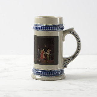 Conversation In Family By Longhi Pietro Mugs