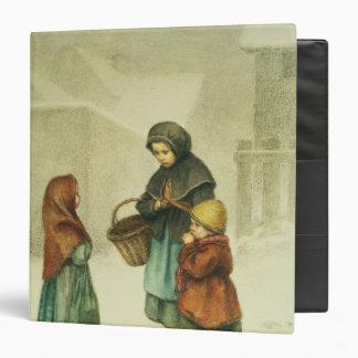 Conversation in the Snow Vinyl Binder