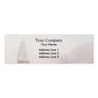 Conversation On The Shore Dusk by Ivan Aivazovsky Business Card