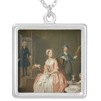 Conversation Piece Silver Plated Necklace