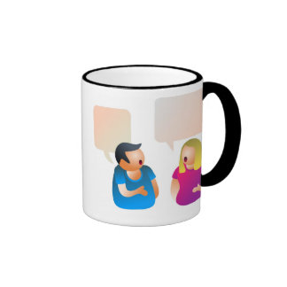 Conversation Ringer Mug