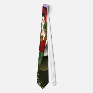 Conversation with lady bug tie