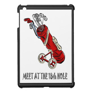 Conversation with the golf bag iPad mini cover