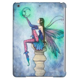 Conversation with the Moon Fairy Fantasy Art iPad Air Cases