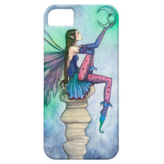 Conversation with the Moon Fairy Fantasy Art iPhone SE/5/5s Case
