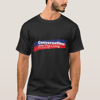 Conversations with the Living: Logo T-Shirt