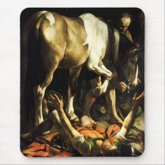 Conversión de Caravaggio del cojín de ratón de San