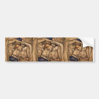 Conversión de Egon Schiele- Etiqueta De Parachoque