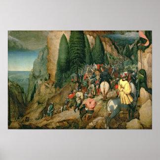 Conversión de San Pablo 1567 Posters