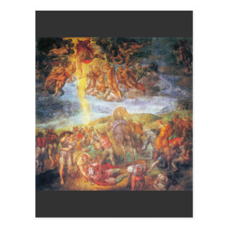 Conversion of Paul by Michelangelo Unterberger Postcard