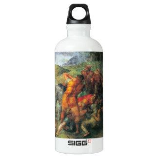 Conversion of Paul detail by Michelangelo Water Bottle