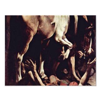 Conversion Sauli,  By Michelangelo Merisi Da Cara Personalized Invite