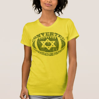 Converted (vintage green) t-shirts