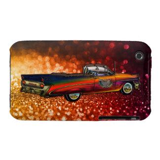 Convertible 1959 de Pontiac Catalina del vintage Funda Para iPhone 3
