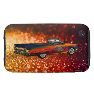 Convertible 1959 de Pontiac Catalina del vintage Funda Though Para iPhone 3
