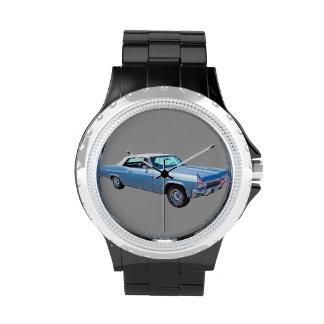 Convertible 1965 del impala 327 de Chevy Relojes De Mano