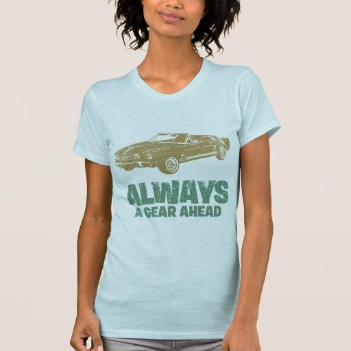 Convertible 1965 del mustango de Ford T-shirts