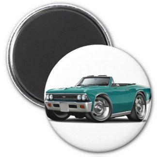 Convertible 1966 del trullo de Chevelle Imán Redondo 5 Cm