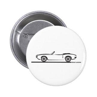 Convertible 1968 de Pontiac Firebird Pin