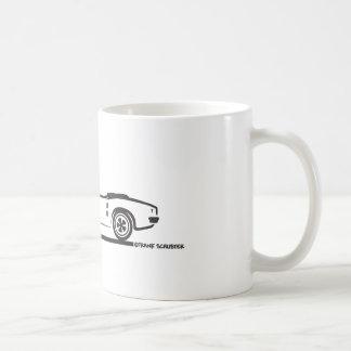 Convertible 1968 de Pontiac Firebird Taza De Café