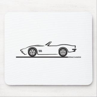 Convertible 1970-72 del Corvette Alfombrillas De Raton
