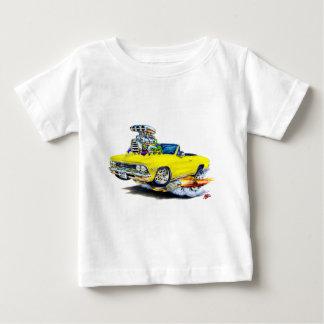 Convertible amarillo 1966 de Chevelle Playera De Bebé