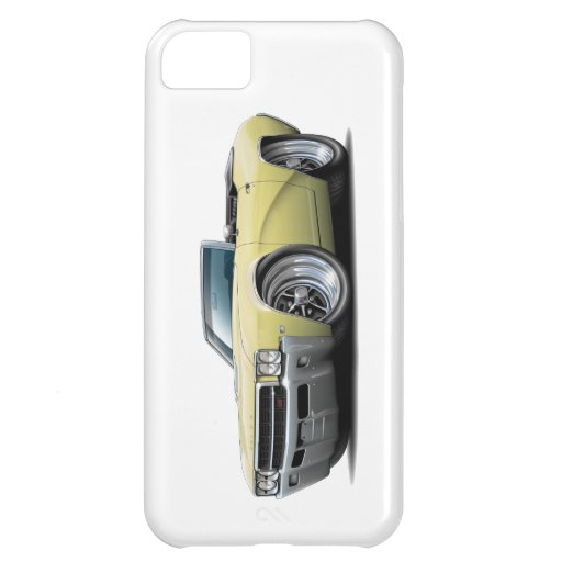 Convertible amarillo 1969 de Buick GS Funda Para iPhone 5C
