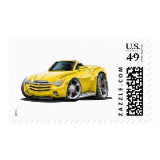 Convertible amarillo de SSR Franqueo
