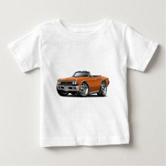 Convertible anaranjado 1966 de Chevelle Playera De Bebé