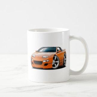 Convertible anaranjado de Nissan 300ZX Taza De Café