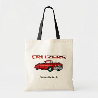 Convertible and Flames Tote Bag