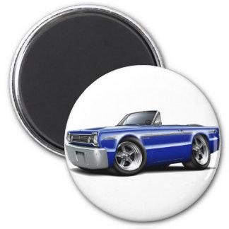 Convertible azul 1966 de DK del belvedere Imán Redondo 5 Cm