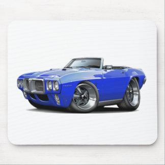 Convertible azul 1969 de Firebird Tapete De Ratón