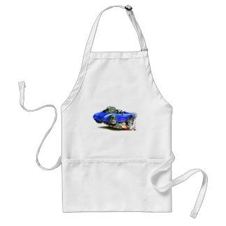 Convertible azul 1998-2004 del Corvette Delantal