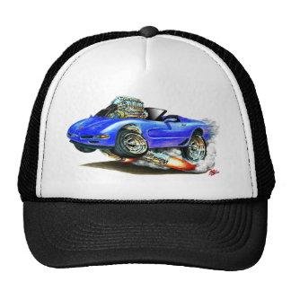 Convertible azul 1998-2004 del Corvette Gorra