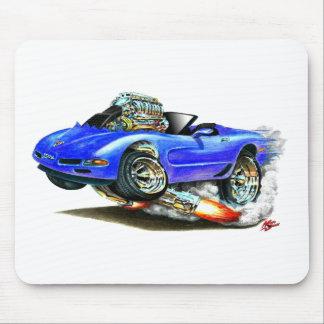 Convertible azul 1998-2004 del Corvette Tapete De Raton