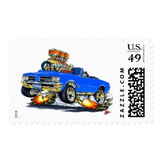 Convertible azul de 1964 GTO Timbres Postales