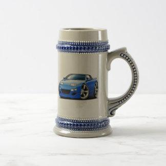 Convertible azul de Nissan 300ZX Taza De Café