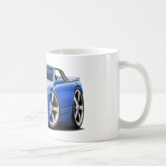 Convertible azul de Nissan 300ZX Tazas De Café