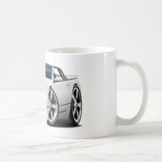 Convertible blanco de Nissan 300ZX Taza De Café