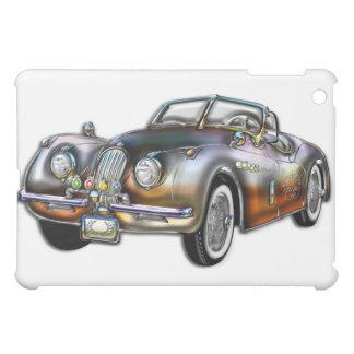 Convertible Classic Metallic Sports Car Case For The iPad Mini